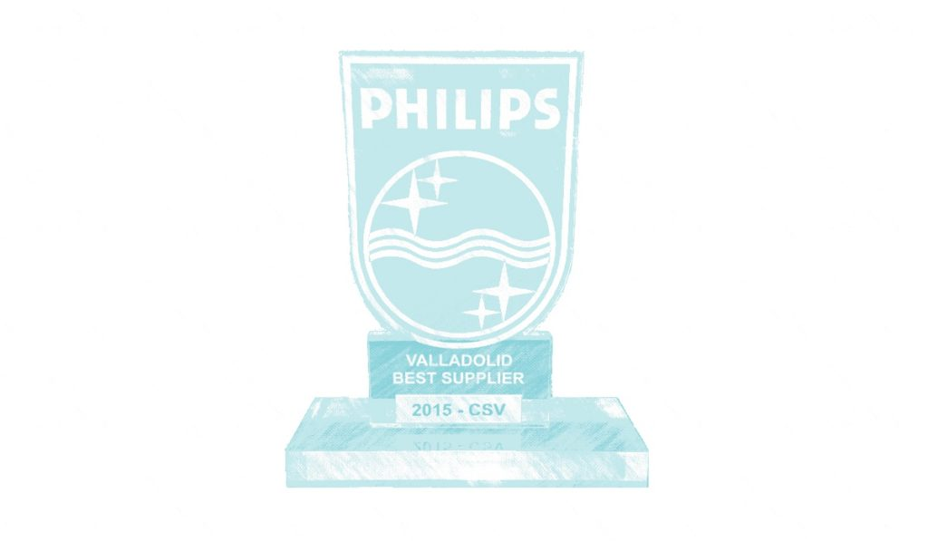 Philips-Valladolid-Best-Supplier-2015-CSV-Sistemas